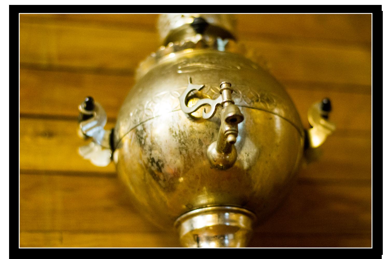Коллекционный самовар в музее им Н. Г. Евсеева
