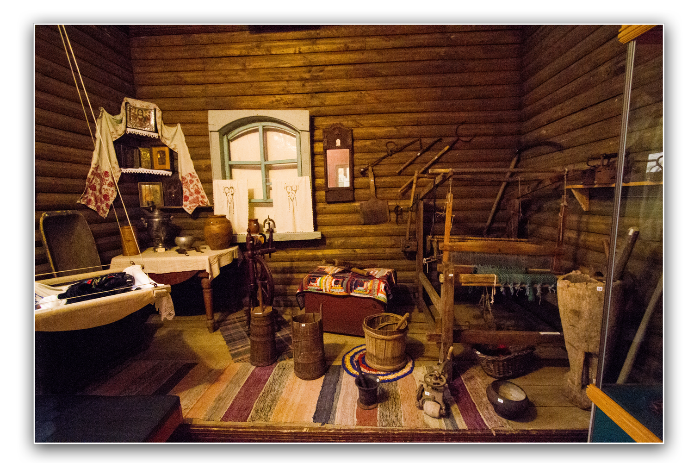 Славянский быт XIX века в музее им Н. Г. Евсеева